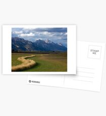 Curving To The Grand Postcards