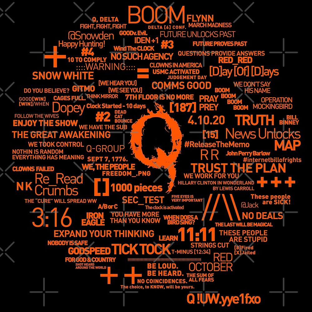 Qanon - Great Awakening - QResearch - Cryptograph by CentipedeNation