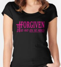 Forgiven Women's Fitted Scoop T-Shirt