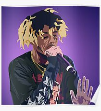 Wifisfuneral Yellow-Gold Hair Poster