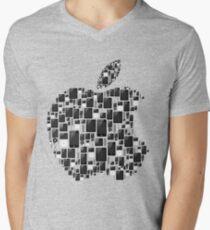 APPLE - IPAD IPHONE IPOD TOUCH Men's V-Neck T-Shirt