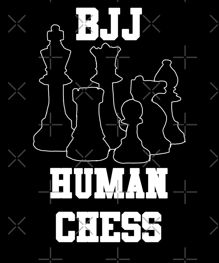 BJJ Human Chess Jiu Jitsu  by Energetic-Mind