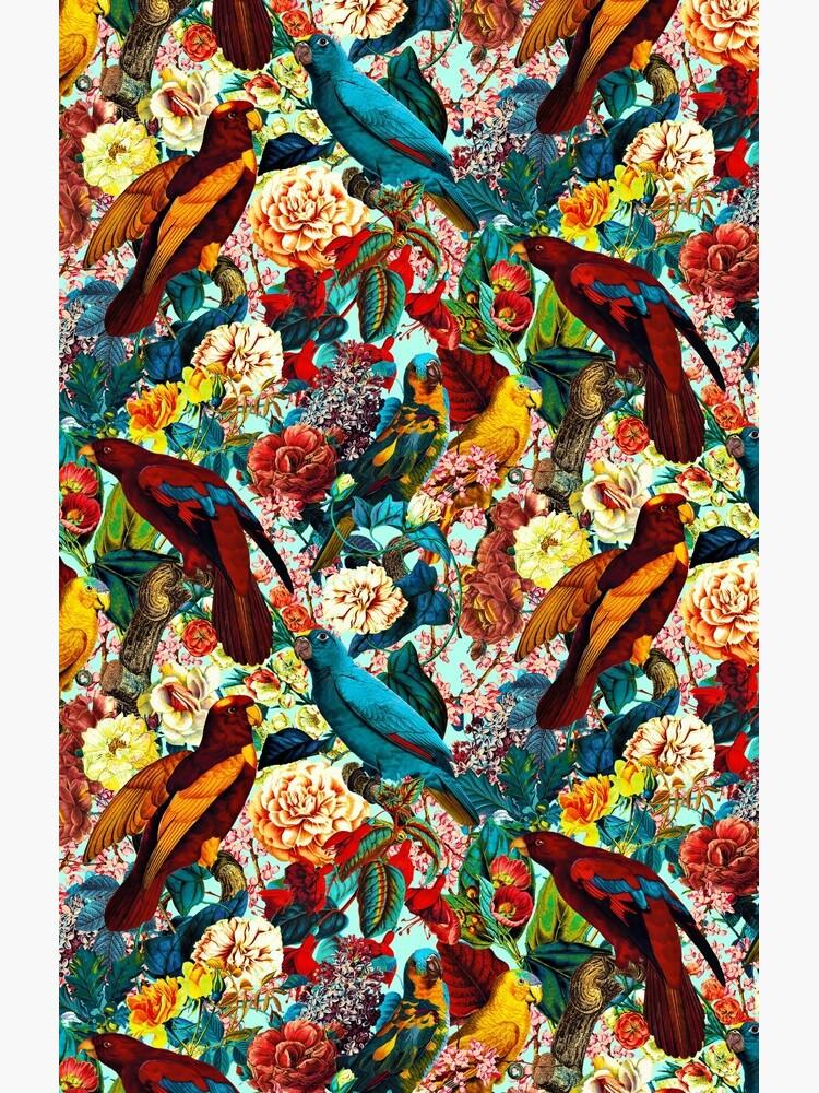 FLORAL AND BIRDS XV by burcukyurek