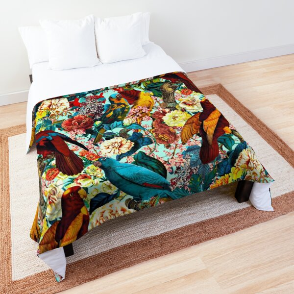FLORAL AND BIRDS XV Comforter