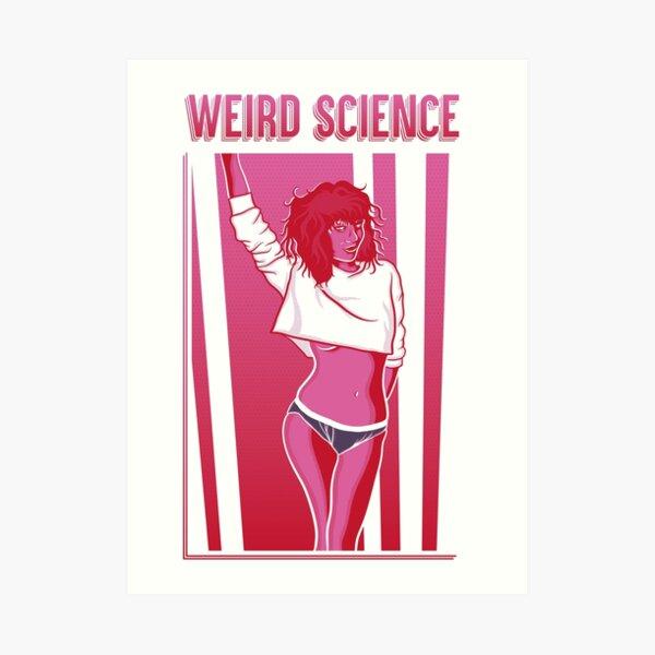 Weird Science Art Print