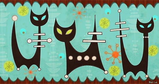 Atomkatzen von BunnyThePainter