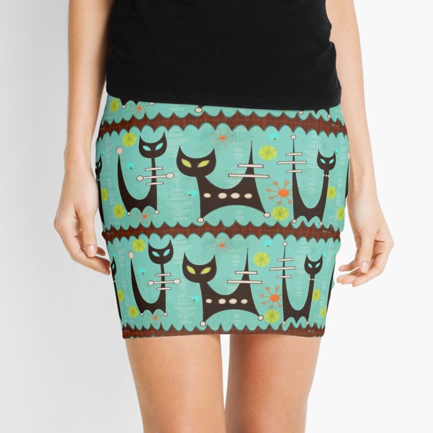 Atomic Cats Mini Skirt