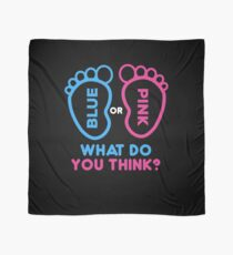 Blau oder Pink Was denkst du? Geschlecht enthüllen Hemden | schwangere Hemden | neue Muttergeschenke | Baby-Dusche-Geschenk | Baby Ankündigung Shirt | lustige neue Vatigeschenke | Schwangerschaft Ankündigung Geschenk Tuch