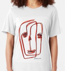 RED Slim Fit T-Shirt