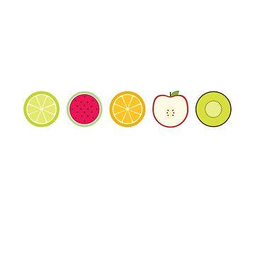 Fruits by Seemushk