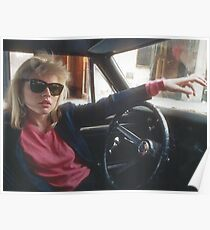 Debbie Harry Blondie Poster