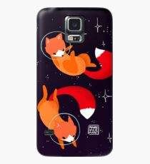 Space Foxes Case/Skin for Samsung Galaxy
