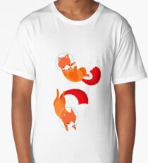 Space Foxes Long T-Shirt