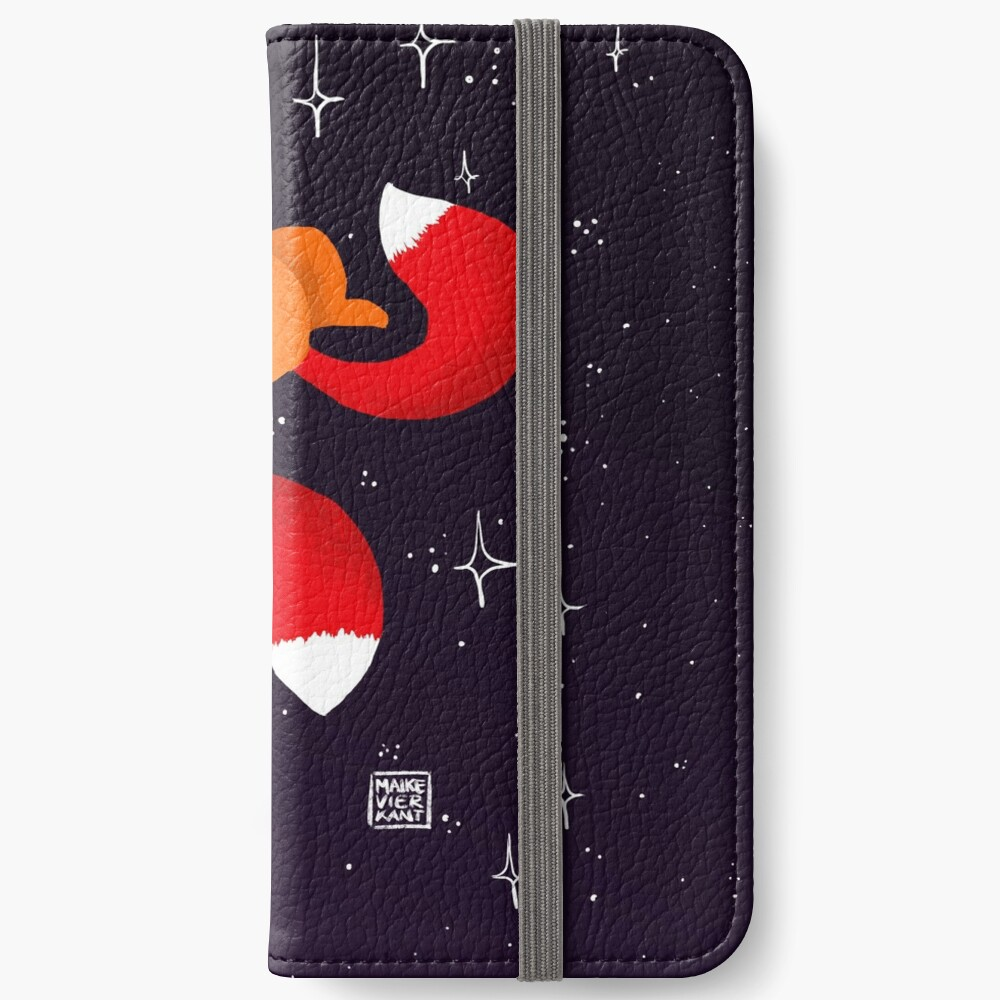 Space Foxes iPhone Wallet