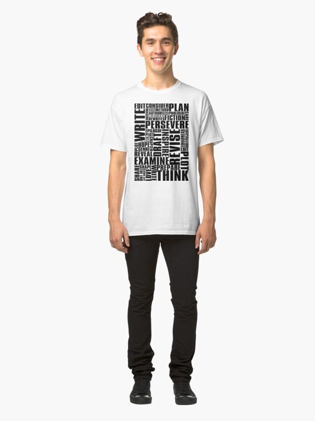 Alternate view of Writer's Inspiration Classic T-Shirt