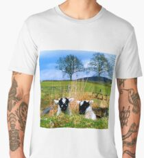 Playing Peek_A_Boo Up Glen Prosen Men's Premium T-Shirt