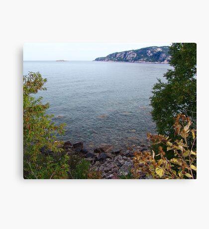 Old Woman Bay, Lake Superior Canvas Print