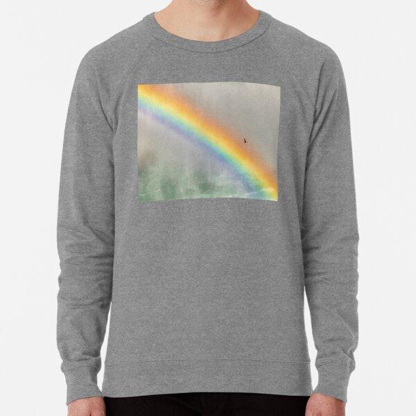 Rainbow Flight over Niagara Lightweight Sweatshirt