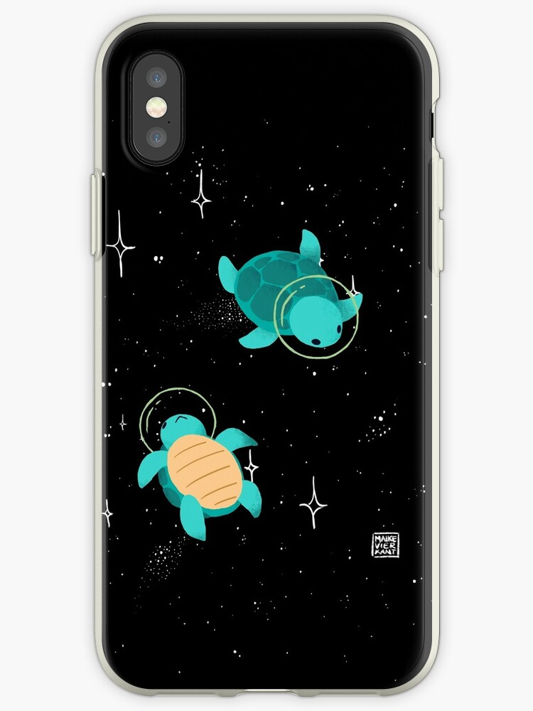 new product 27cab b2c41 'Space Turtles' iPhone Case by Maike Vierkant