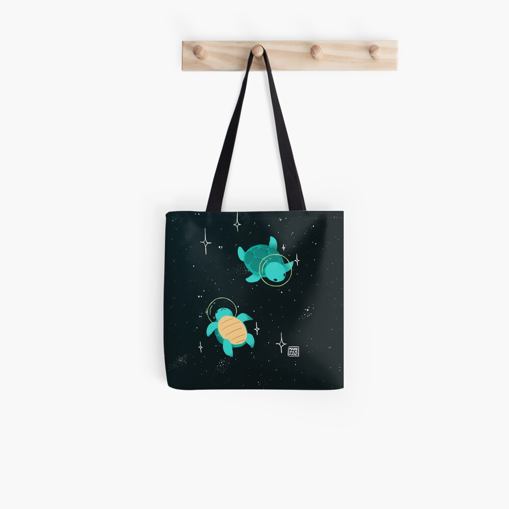 Space Turtles Tote Bag