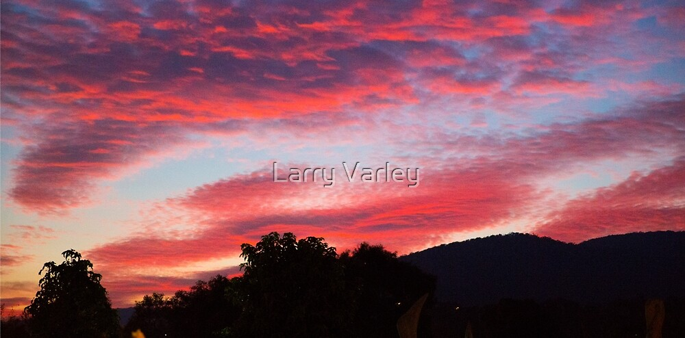 Dandenong sunrise series #2 by Larry Varley
