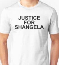 JUSTICE FOR SHANGELA - BLACK Unisex T-Shirt