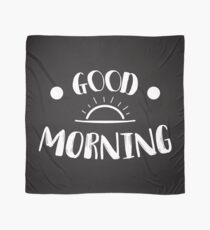Guten Morgen, weiße Version Tuch
