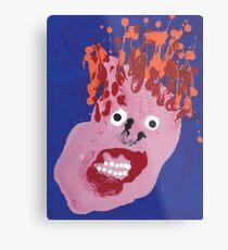 Bill - Martin Boisvert - Faces à flaques Impression métallique