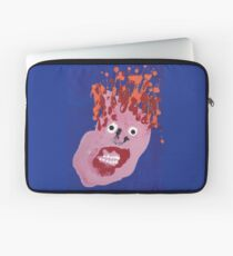Bill - Martin Boisvert - Faces à flaques Housse de laptop