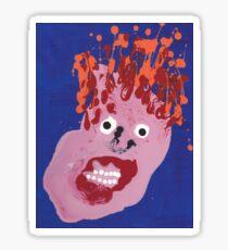 Bill - Martin Boisvert - Faces à flaques Sticker