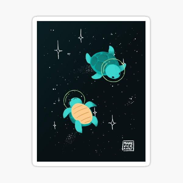 Space Turtles Sticker
