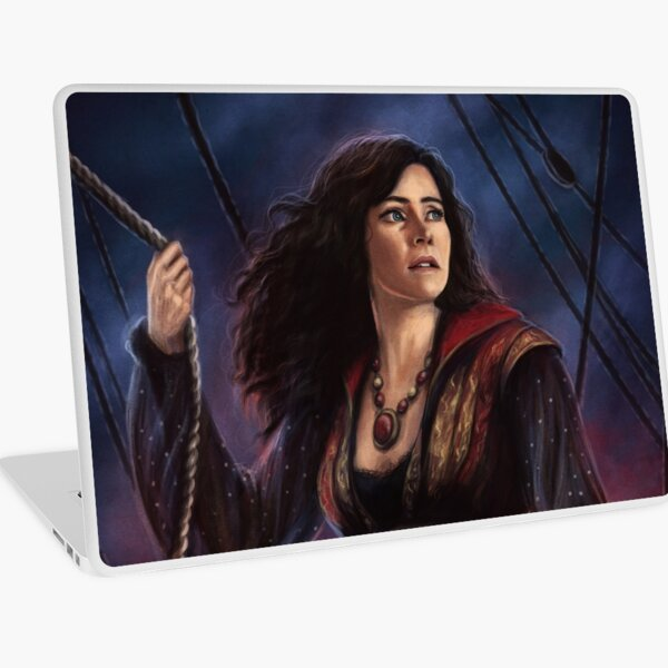 Pirate Queen Laptop Skin