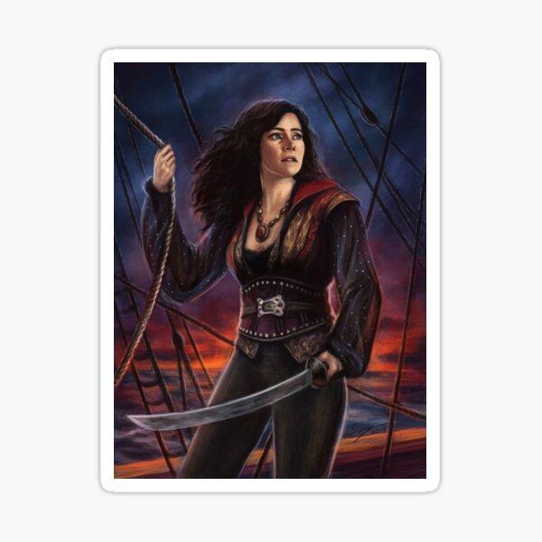 Pirate Queen Sticker
