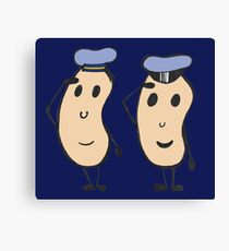 Navy Beans Canvas Print