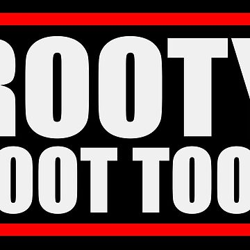 Funny Rooty Toot Toot Shirt de IntrepiShirts