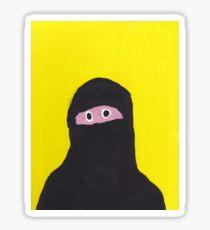 Niqab Sticker