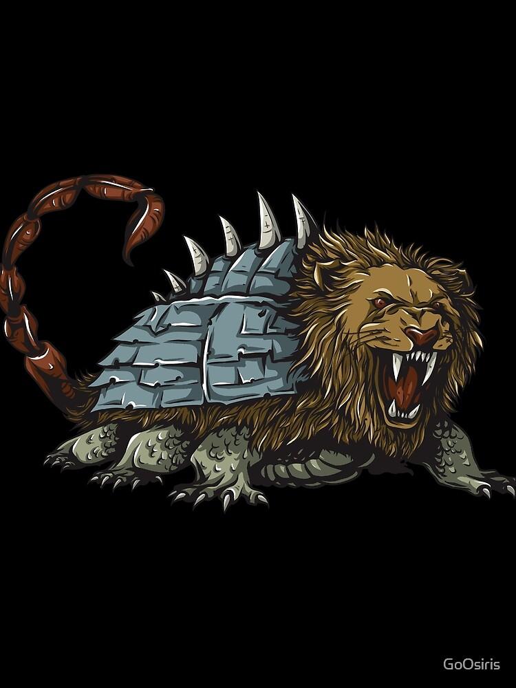 Tarasque Mythical Beast de GoOsiris