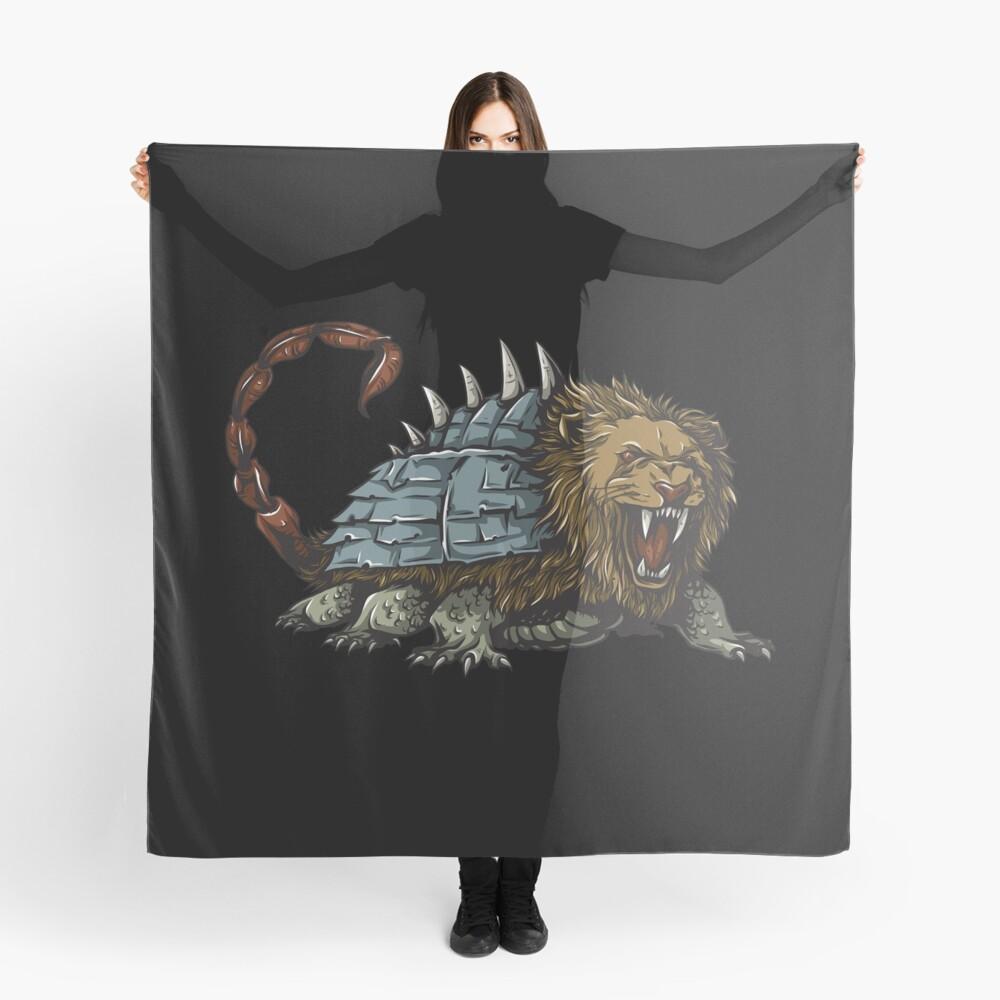 Tarasque Mythical Beast Pañuelo