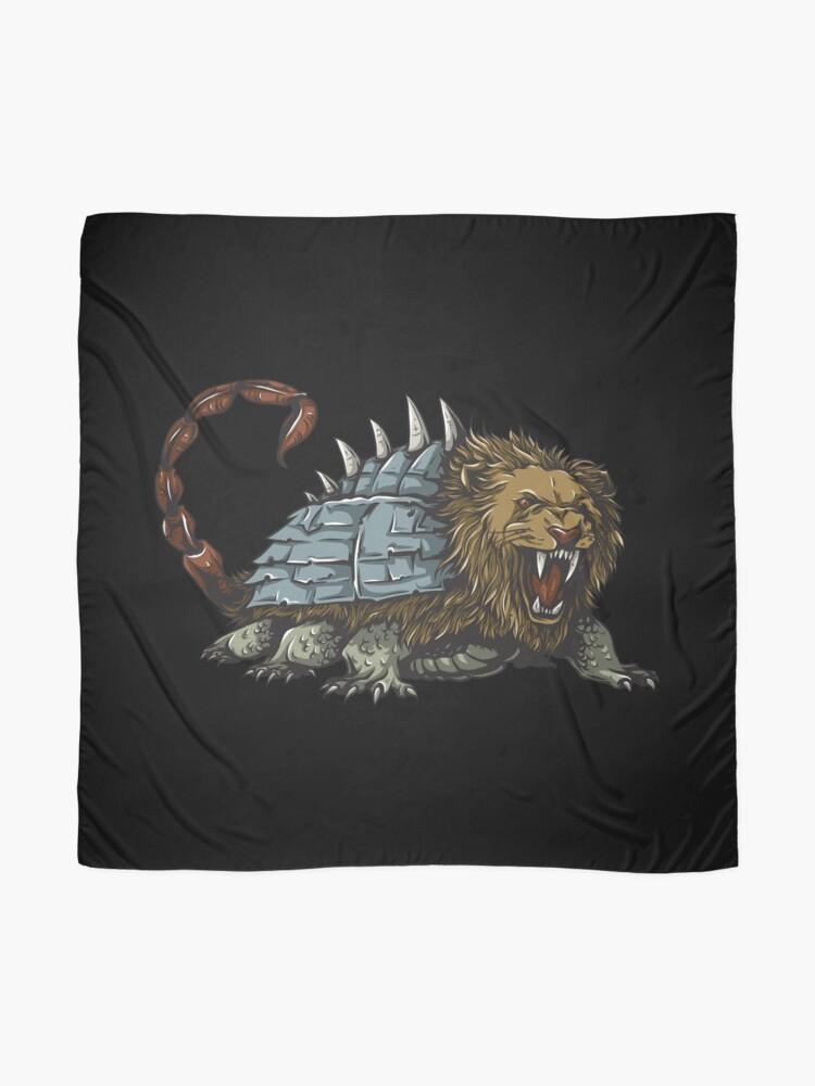 Vista alternativa de Pañuelo Tarasque Mythical Beast