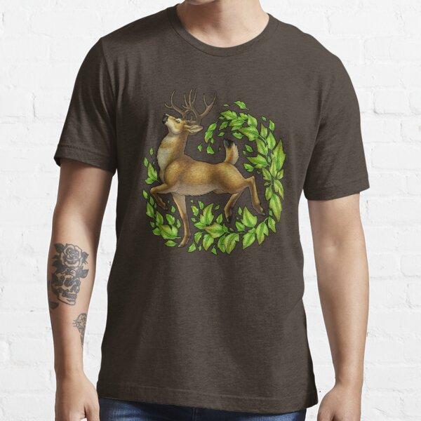 Leafy Cervine Essential T-Shirt
