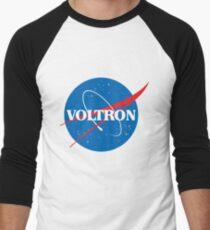 NASA (but it's voltron) Men's Baseball ¾ T-Shirt