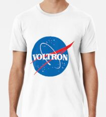 NASA (but it's voltron) Men's Premium T-Shirt