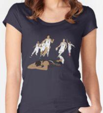 Michigan-Spiel-Sieger-Feier Tailliertes Rundhals-Shirt