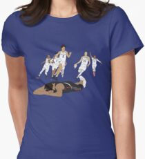 Michigan Game Winner Celebration Women's Fitted T-Shirt
