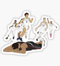 Michigan Game Winner Celebration Sticker