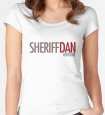 Fortitude - Sheriff Dan Women's Fitted Scoop T-Shirt