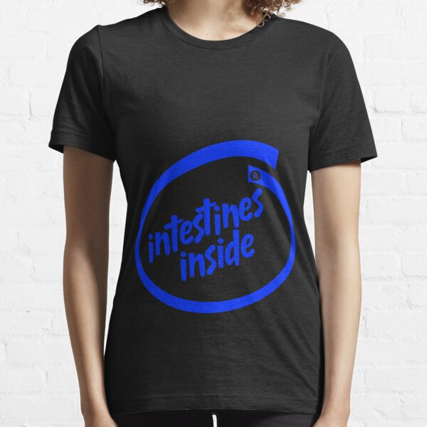 Intestines Inside (Intel logo parody) Essential T-Shirt