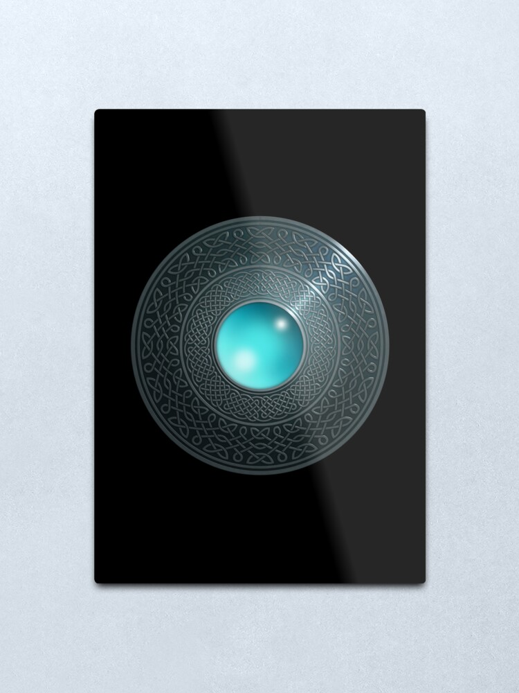 Alternate view of Shield Metal Print