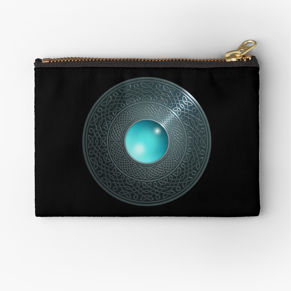 Shield Zipper Pouch