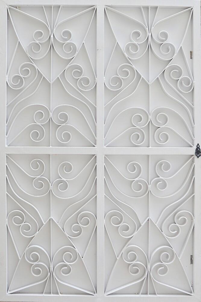 Artistic window shutter by Arie Koene